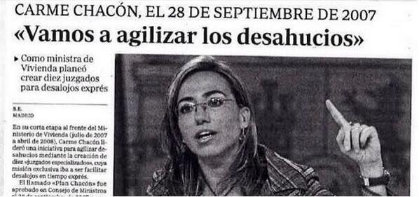El PSOE de los desahucios exprés  http://t.co/dfvT8gqWT9