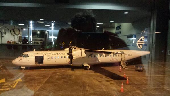 Waiting at Hamilton airport - will we get airborne #efellows14 @mrbenbritton @Bec_Power @TimGanderNZ @hagnrz @1MvdS http://t.co/FzagOfLt75