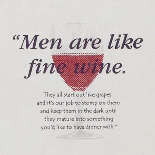 Men are like red wine. #savoir_vivre <br>http://pic.twitter.com/JxdwoIAUBN