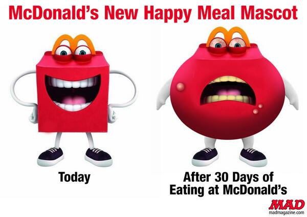 image quot here s happy quot mcdonalds introduced a new