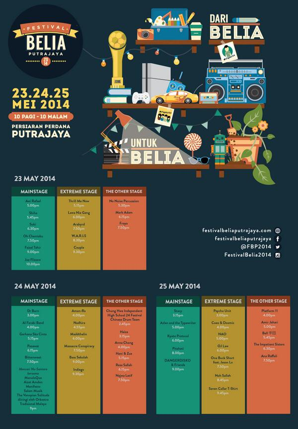 This Sunday, I'll be performing at Festival Belia Putrajaya at 6pm! Free for all. @FBP2014 http://t.co/gxrkmhLyaC