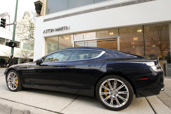 Aston Martin On Twitter The Exceptional Door Rapide S On Show - Aston martin 4 door