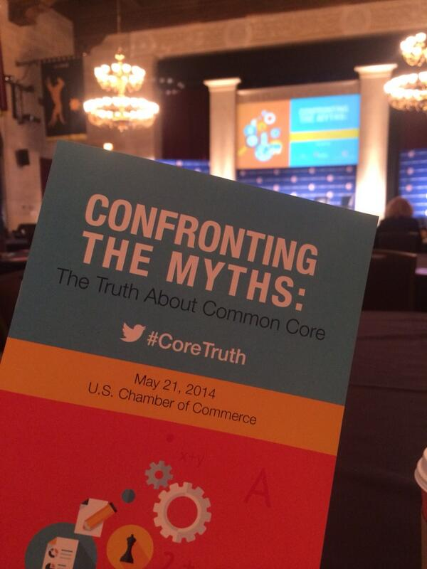 Excited for a great #CommonCore discussion at @USChamber! #CoreTruth #supportthecore http://t.co/4ViI0hZ08k
