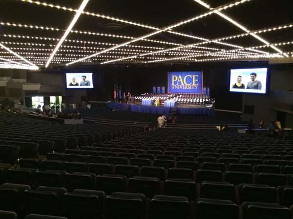 You ready, NYC? #PaceGrad http://t.co/PYRJTvzFpa