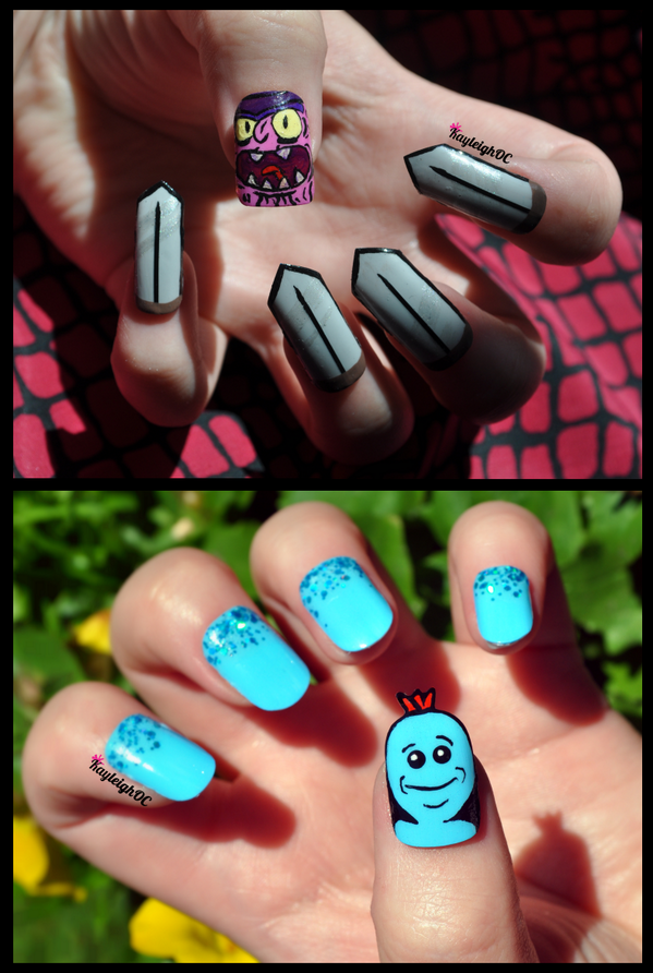 Adult Swim On Twitter Rt Kayleighoconnor My Rick And Morty Nail