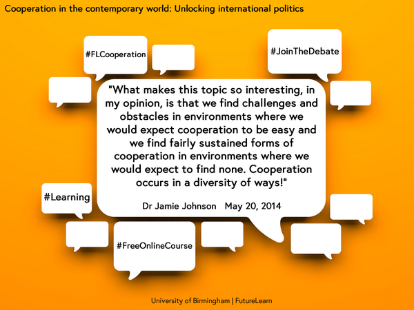.@jamcjo shares why #Cooperation is so interesting - #FLCooperation #freeonlinecourse http://t.co/x2l1VradyE @iddbirmingham #development