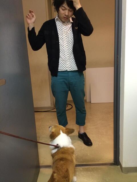 しゃべるドキャストでしたっ! 今年も愛犬ルフィと共演させて頂きましたっ! 楽屋ではみんなに愛想を振りまいておりましたが、福田と押見さんにはなつかなかったです。
