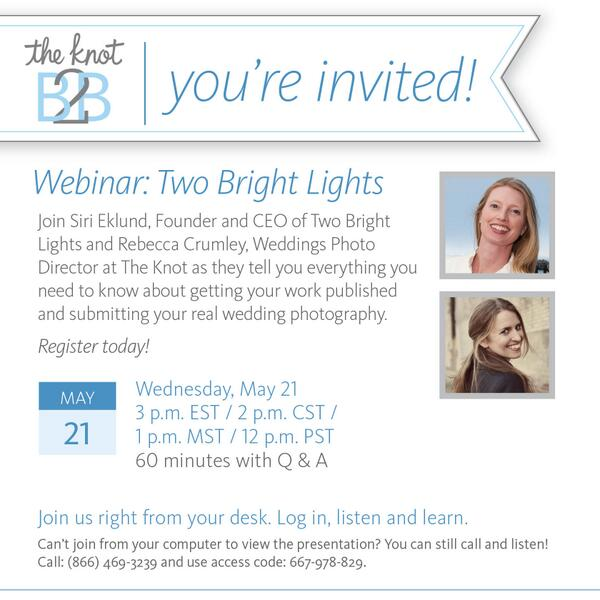 One hour until @sirieklund and I discuss @theknot + @twobrightlights in today's webinar - register here: https://t.co/l0Sw0SDcpw