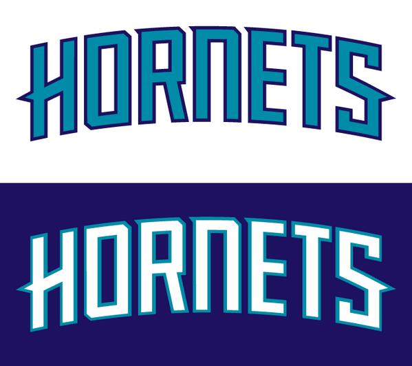 a4f6afa6868 UniWatch  PhilHecken  jose3030  sportslogosnet Official Charlotte Hornets  2014-15 home away uniform wordmarks pic.twitter.com 0c8cOcUxDH