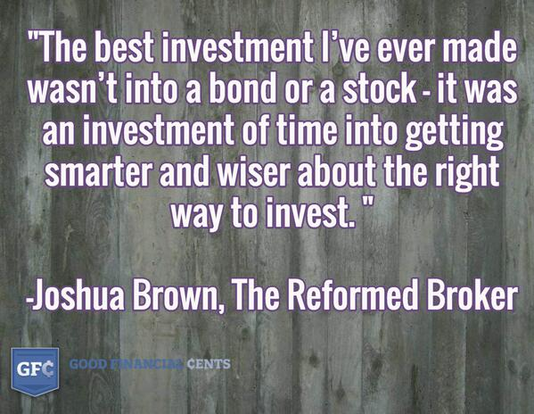 The best investment I've ever made wasn't into a bond or a stock .... @ReformedBroker #invest… http://t.co/d6PENjkKOz http://t.co/2S7rh0HFVq