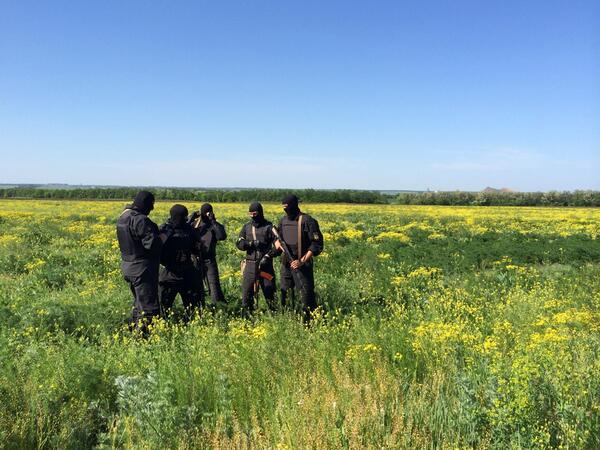 """Спецбатальон """"Донбасс"""" взял под контроль админздания в 4 районах Донецкой области, - обладминистрация - Цензор.НЕТ 6248"""