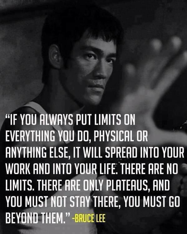 The beauty of letting go of your limitations... Yea, Bruce Lee! http://t.co/zi2rXXweaD