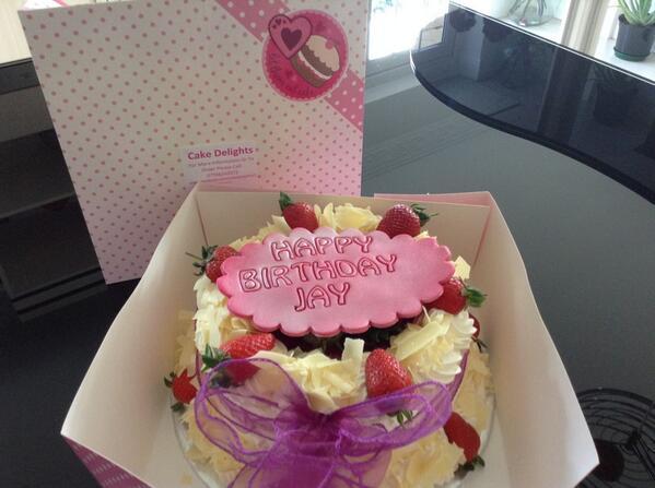 Cake Delights On Twitter Happy Birthday Jay Freshcream