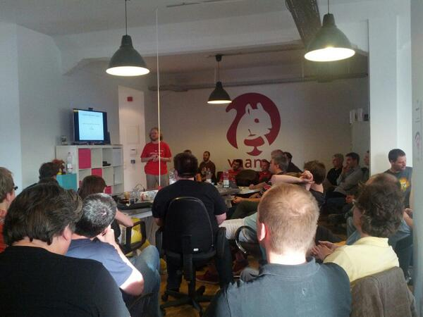 DevOps Meetup Frankfurt @ vaamo office on Mai 21st 2014