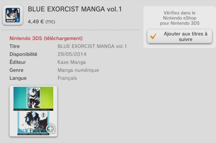 Manga eShop Europa