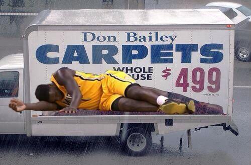 Don Bailey Carpet Billboard Vidalondon