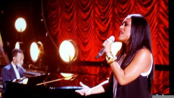 So precious...Malaya Watson and John Legend #Idol Finale http://t.co/JzEmLQrtiV