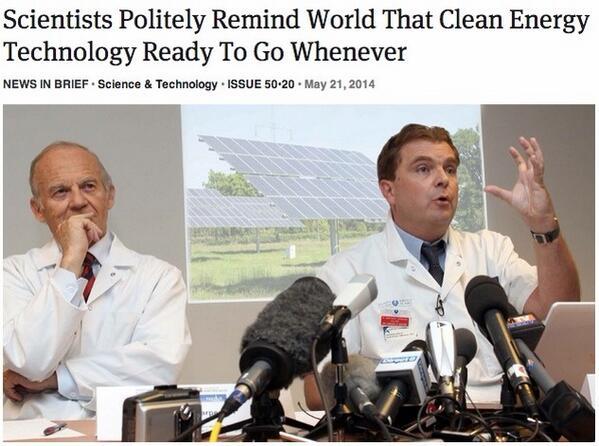 Image result for scientists politely remind world