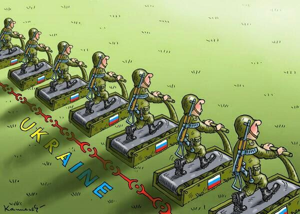 """США заметили передвижение армии РФ у границы с Украиной: """"Говорить об отводе российских войск еще рано"""" - Цензор.НЕТ 6810"""