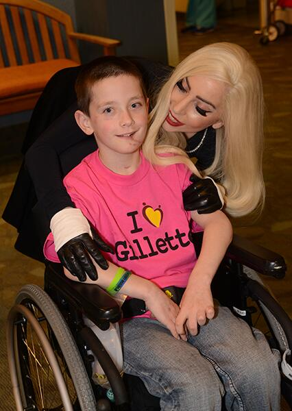 Lady Gaga Makes Surprise Visit To Minnesota Children's Hospital
