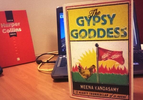 Fresh off the press: @meenakandasamy 's brilliant novel, published by @HarperCollinsIN http://t.co/tKIRhpajBp
