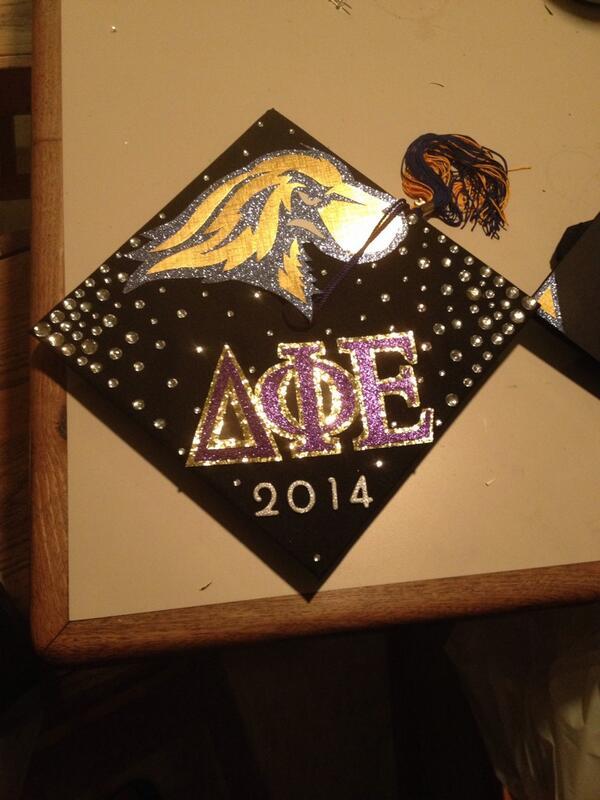 graduation cap is finally complete 😍💙 Pace University Class of 2014 🎓 #graduationcap #dphie #paceu http://t.co/barEftByQM