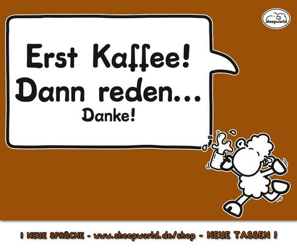 Sheepworld على تويتر Guten Morgen Sheepworld Kaffe