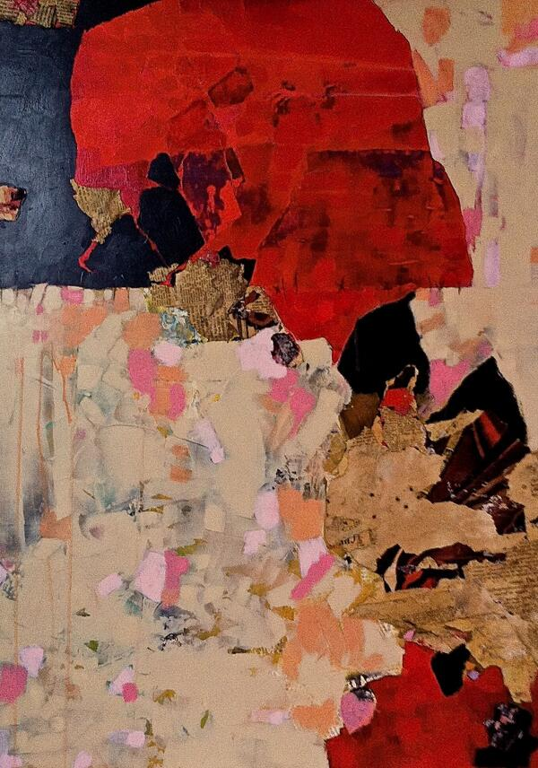 'Scar Tissue' mixed media #ART http://t.co/mQt2uOYble