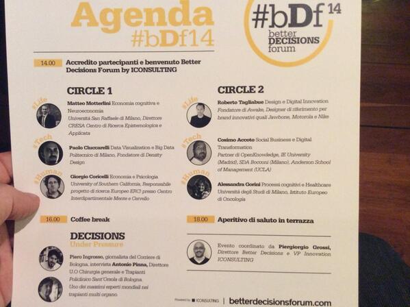 Better decision forum 2014 agenda #bDf14 http://t.co/eHr7JPgkfX