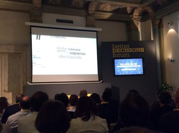Great start of #bDf14 in #bologna with @Pierg and @IconsultingBI http://t.co/vmZhvU5CCE