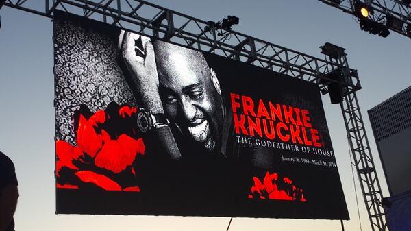 Our tribute to a legend! #Frankieknuckles http://t.co/jJc9yAG4f4