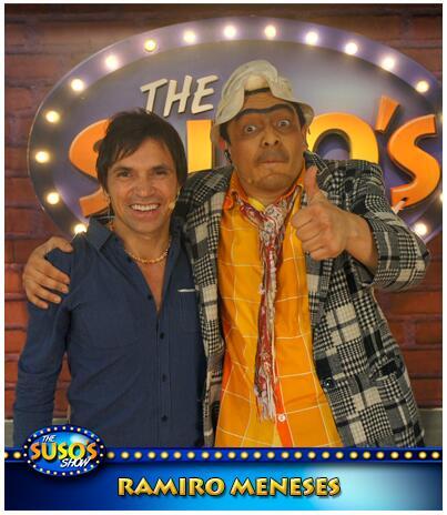 Este domingo @susoelpaspi estará con @RAMIROMENESES Uno de los mejores actores de nuestro país. @Telemedellin http://t.co/paOCkawQIj