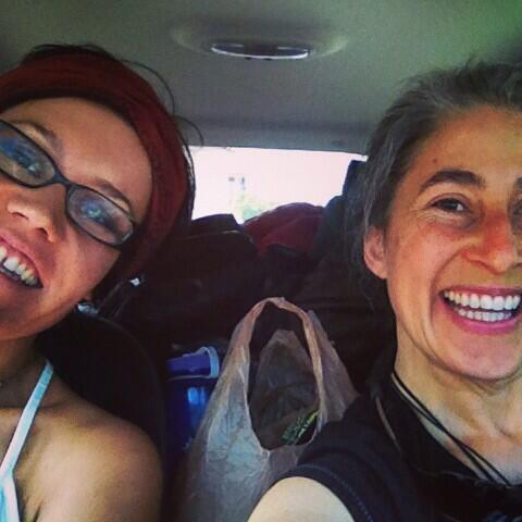 Twitter / awhiskeysister: First two women hit the road ...