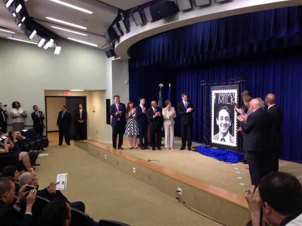 Thumbnail for The Harvey Milk Stamp Is Unveiled!