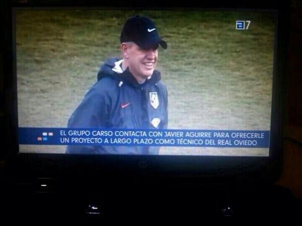 El #RealOviedo negocia con Aguirre http://t.co/f5XTMGoCvl http://t.co/09IvNwgjjX