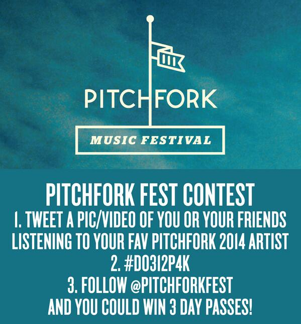 Pitchfork Music Festival 2014 | Lineup | Tickets | Prices | Dates | Video | News | Rumors | App | Chicago | Hotels
