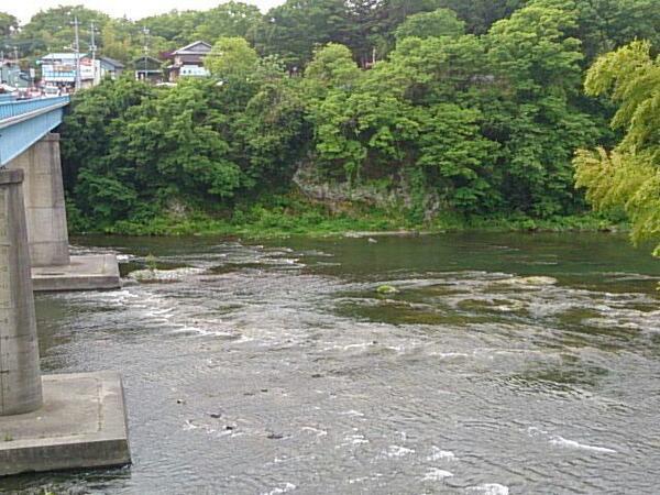今朝の寄居町、荒川玉淀。週末もレジャー日和になりそうです。 #yorii http://t.co/LxxDnmbbUN