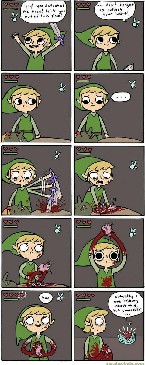 Link, you silly quester. <br>http://pic.twitter.com/FZt0nbU1PF #LegendofZelda #Link #GamerHumor