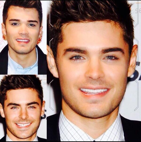 @ZacEfron we could be brothers??? Right?  Troy Cuthbert.