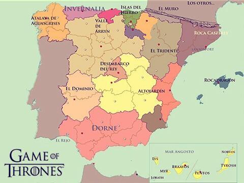 """La nueva temporada de Juego de Tronos se rodará en """"Andalusia"""""""
