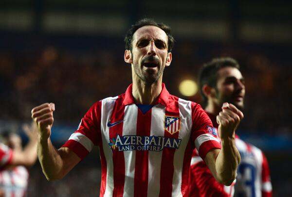 Atletico Madrid right back Juanfran has rejected Arsenal for a second time [AS]