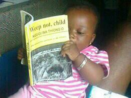 #interviewMeGBC I taught a 6 months old baby to read and enjoy African Literature http://t.co/NzExNCJONZ