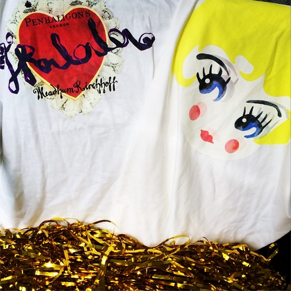 We have 5 #MeadhamKirchhoff Tralala t-shirts to give away! Just RT + follow, we'll choose random winners on Monday! http://t.co/DLToCtoirz