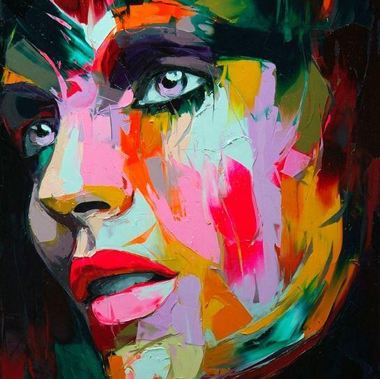 Colorful Oil Paintings by Francoise Nielly, an artist based in Paris, France: http://t.co/EzWwPMuVWS │#art #painting http://t.co/FwJdvs29Ha