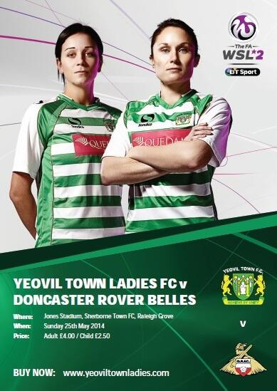 Yeovil Town Ladies vs Doncaster Belles - Watch the match this Sunday.