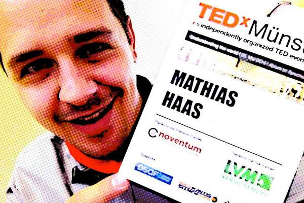 Yeah! Happy to be here again… #tedxms #TEDxMuenster http://t.co/sJbLUJJVuX