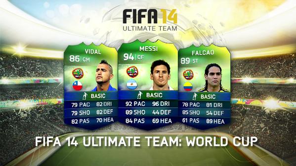 FIFA 14 FUT World cup