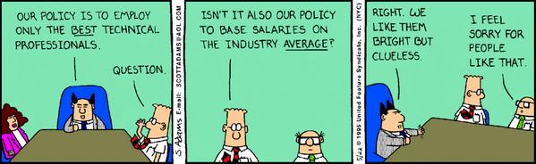 Hiring the ideal tech talent (Dilbert): http://t.co/K65rVpfMdX