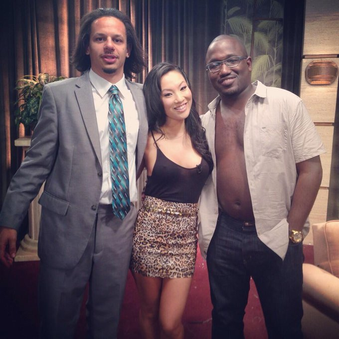 EricAndre show w @ericandre & @hannibalburess is the weirdest thing I've ever done. And I've had skittles