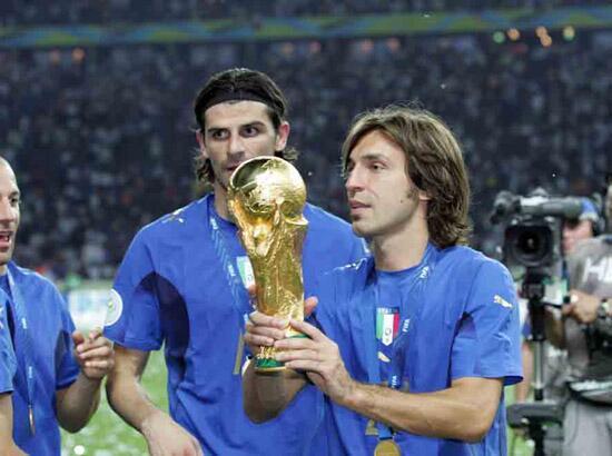 Resultado de imagen para pirlo italia 2006